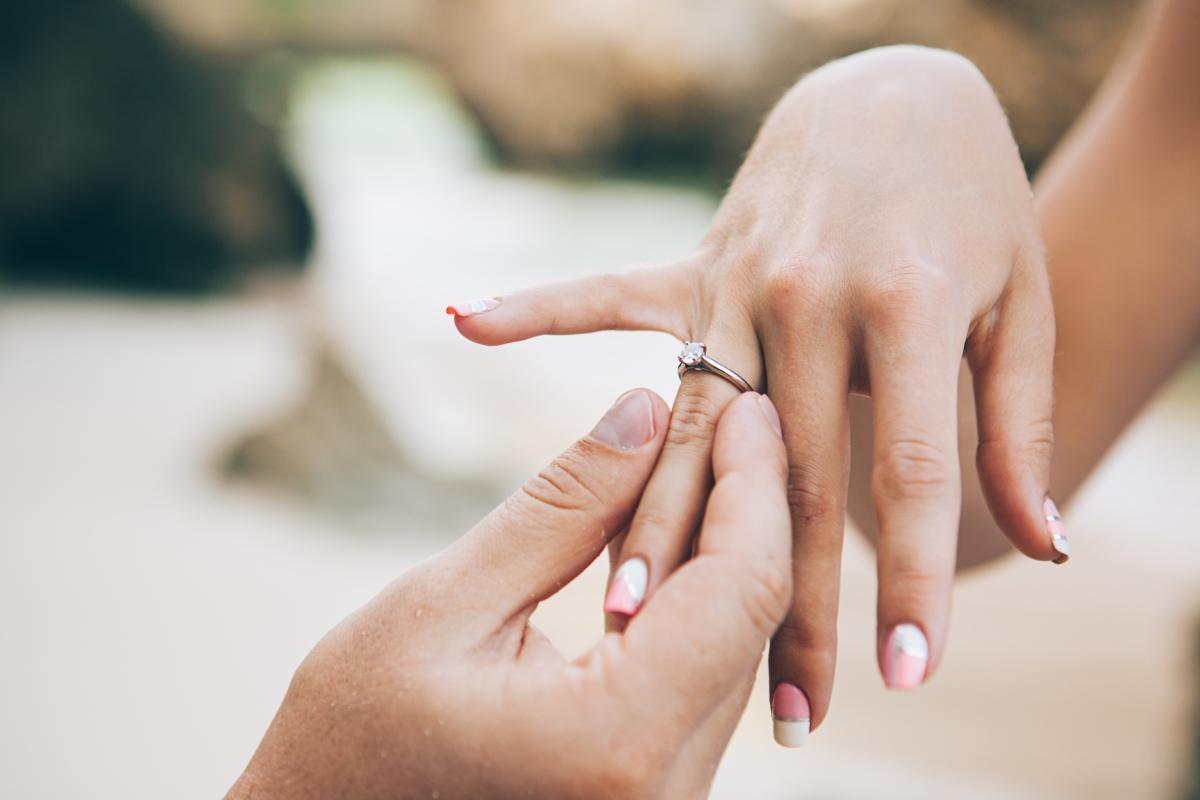 6 metód, ako potajme zistiť správnu veľkosť zásnubného prsteňa